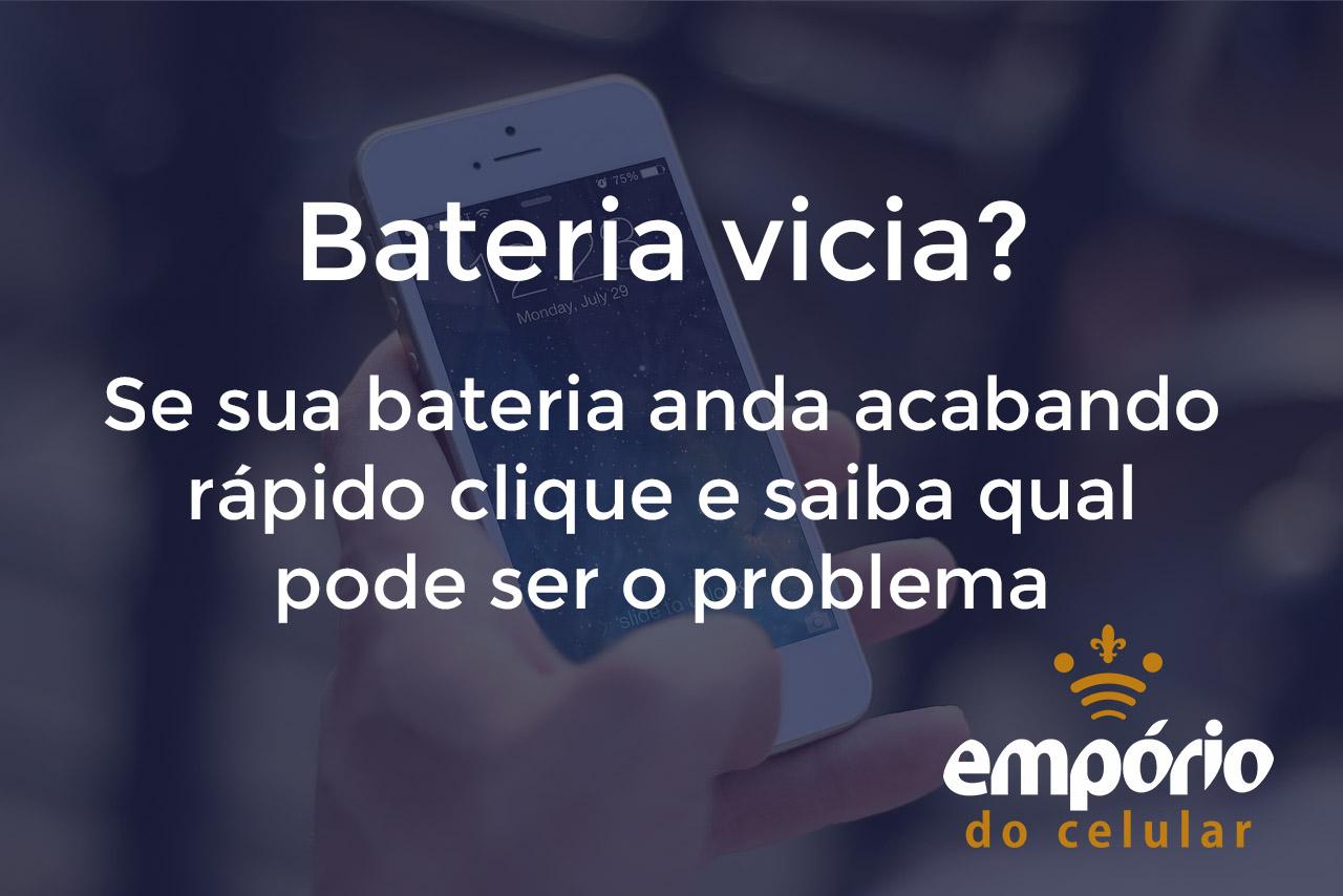 Post 3 - 5 soluções para bateria viciada