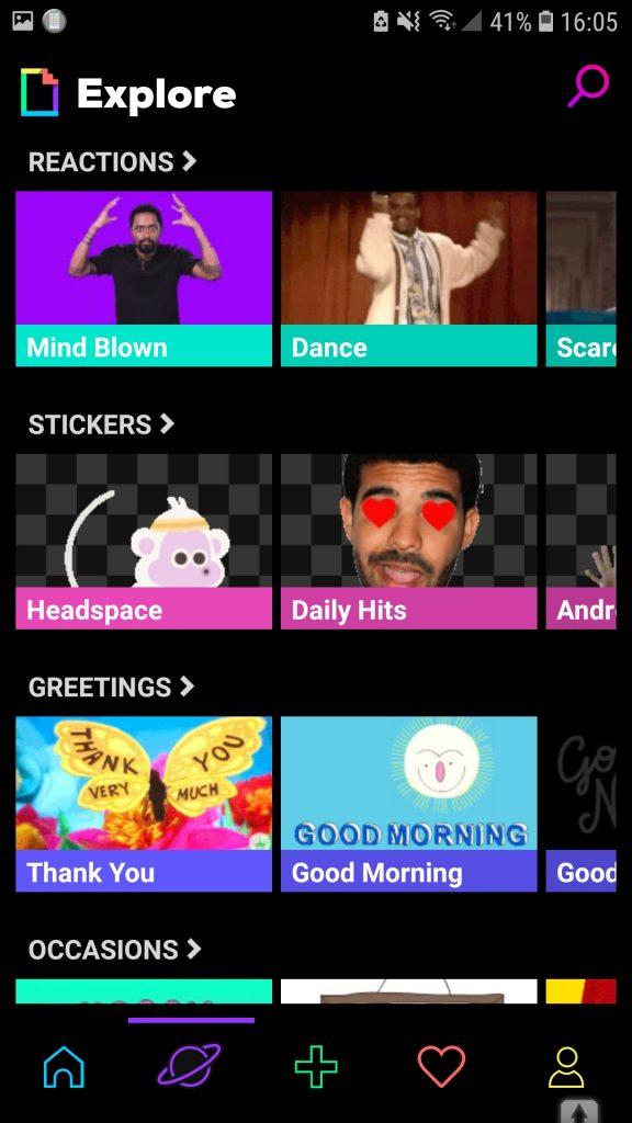Screenshot 20181219 160548 GIPHY 576x1024 - Como fazer um gif no celular
