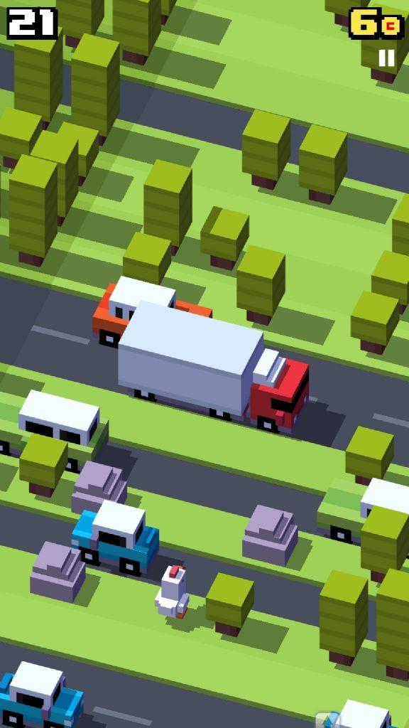Screenshot 20190115 185349 Crossy Road 576x1024 - 7 jogos viciantes para celular