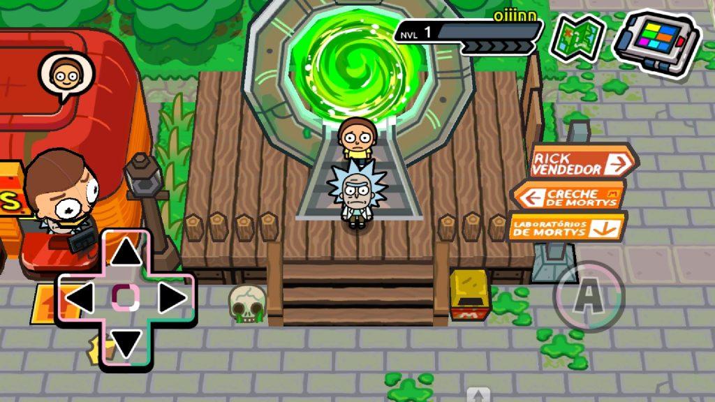Screenshot 20190115 192134 Pocket Mortys 1024x576 - 7 jogos viciantes para celular