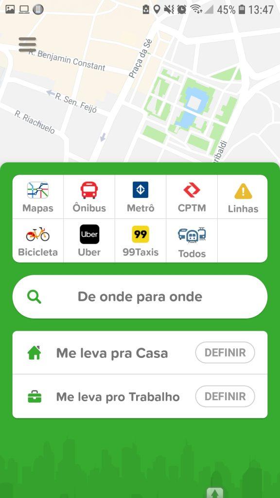 Screenshot 20190121 134742 Citymapper 576x1024 - 8 apps de mobilidade pra você não se perder