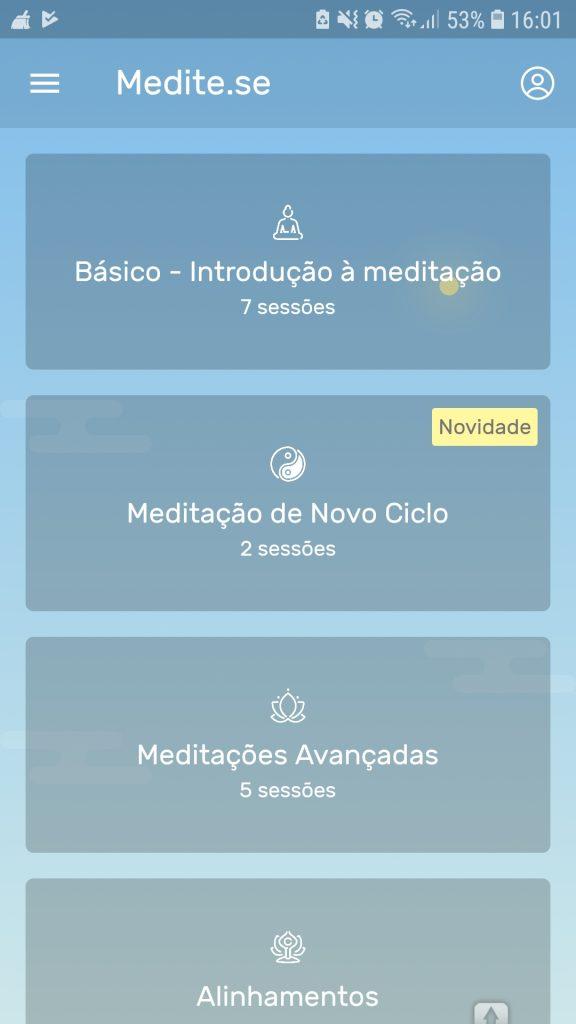 Screenshot 20190205 160117 Meditese 576x1024 - Apps pra fazer exercícios físicos e meditar de graça