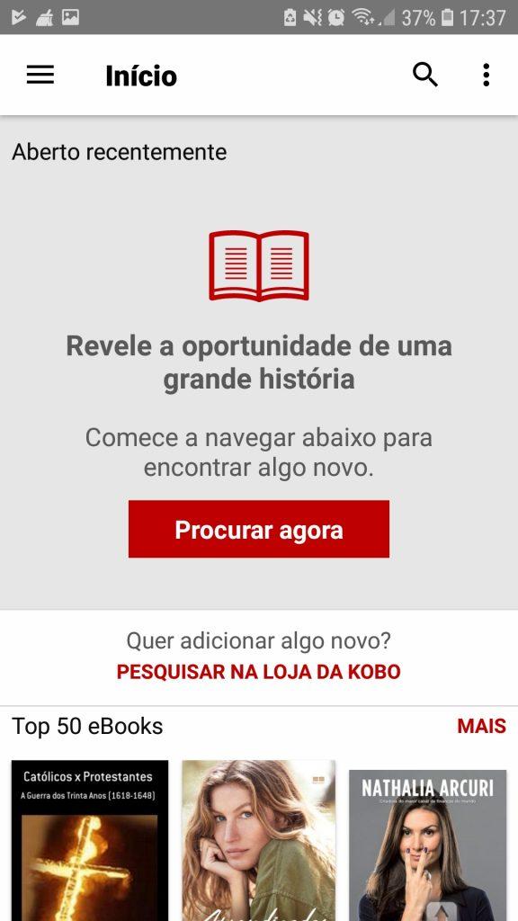 Screenshot 20190205 173732 Kobo Books 576x1024 - Os 5 melhores leitores digitais gratuitos