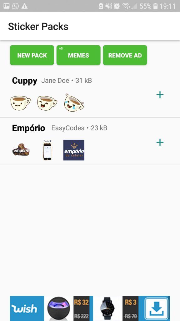 Screenshot 20190319 191103 Sticker Creator 576x1024 - Como fazer figurinha para Whatsapp