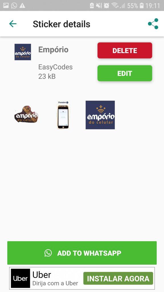 Screenshot 20190319 191106 Sticker Creator 576x1024 - Como fazer figurinha para Whatsapp