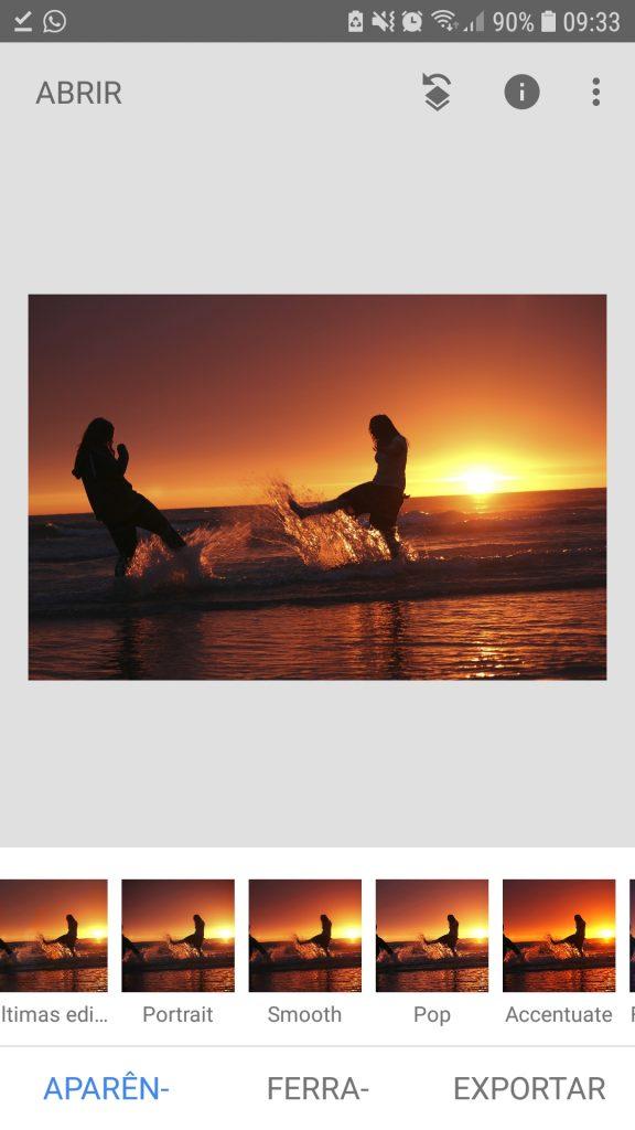 Screenshot 20190327 093339 Snapseed 576x1024 - 5 apps gratuitos de edição de fotos