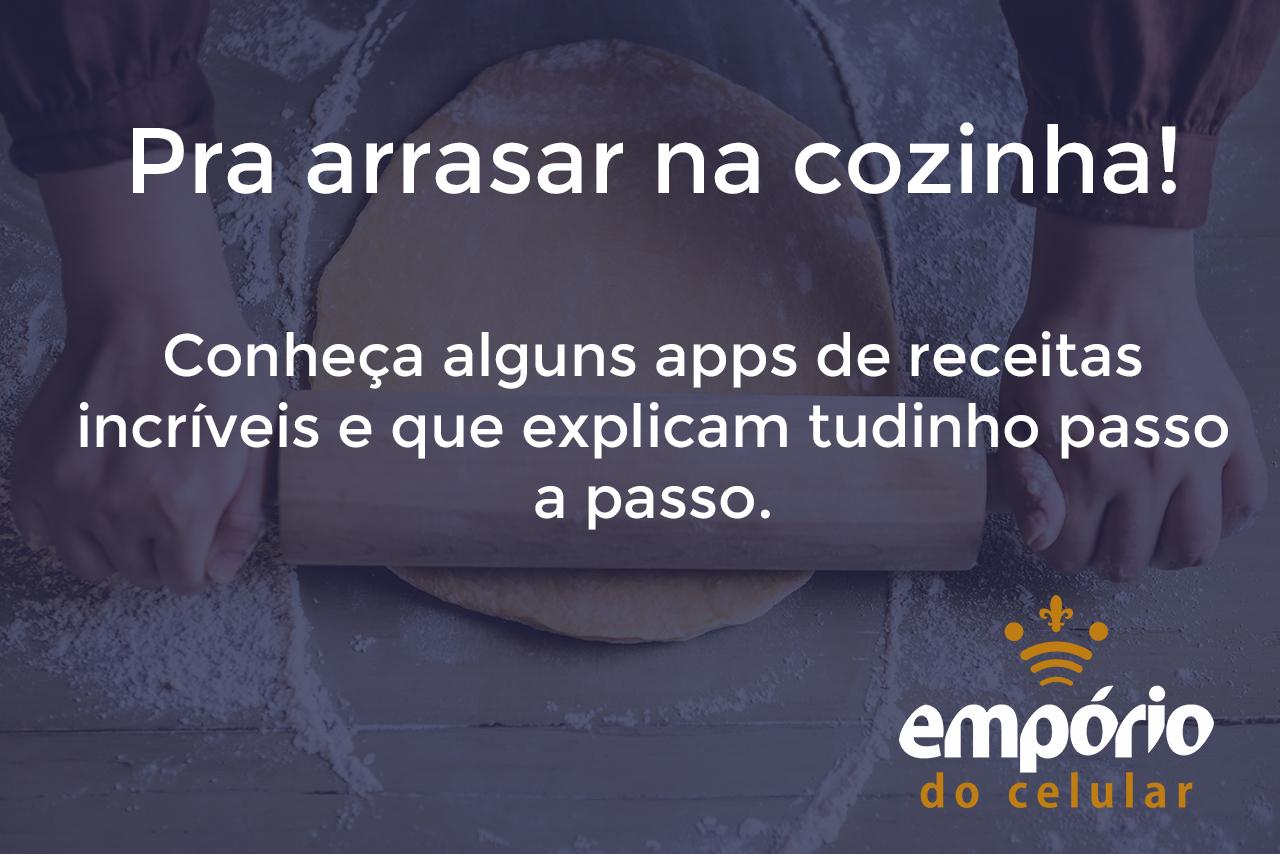 receitas - Os 7 melhores apps de culinária