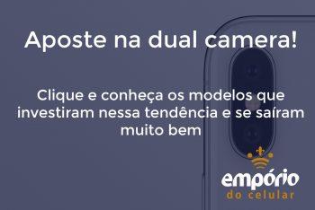 cam dupla 350x234 - Os 10 melhores celulares com câmera dupla