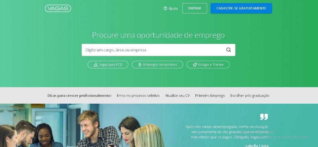 vagas 1024x475 - 5 plataformas gratuitas para encontrar emprego