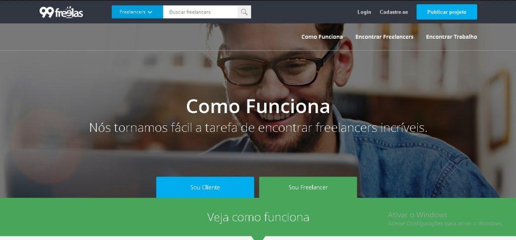 99 1024x477 - 5 plataformas gratuitas para encontrar emprego