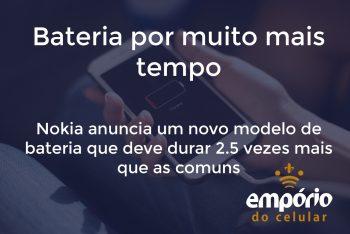bat nokia 1 350x234 - Nokia anuncia bateria que deve durar o dobro do tempo