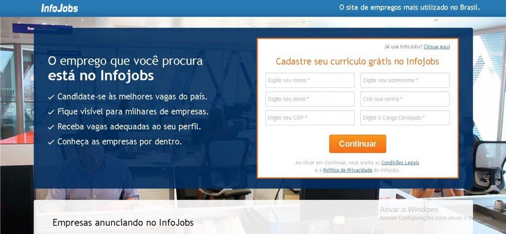 info 1024x474 - 5 plataformas gratuitas para encontrar emprego