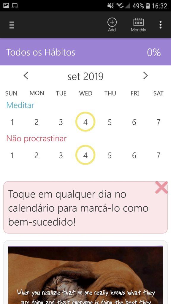 Screenshot 20190904 163258 HabitBull 576x1024 - Os melhores apps para aumentar sua produtividade