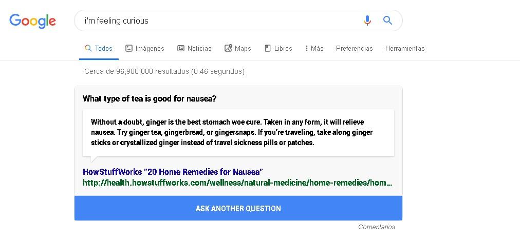 fun fact - 10 funções inusitadas e interessantes do Google