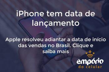 iphone vendas 350x234 - iPhone 11 já tem data de lançamento no Brasil