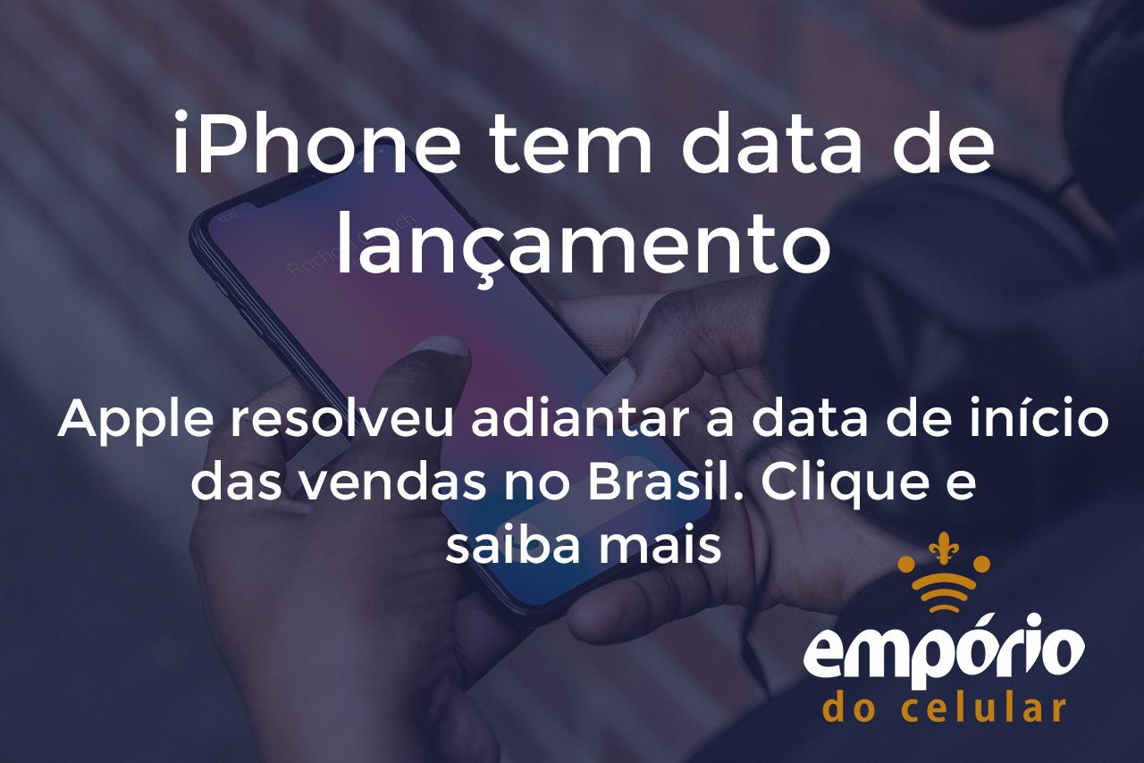 iphone vendas - iPhone 11 já tem data de lançamento no Brasil