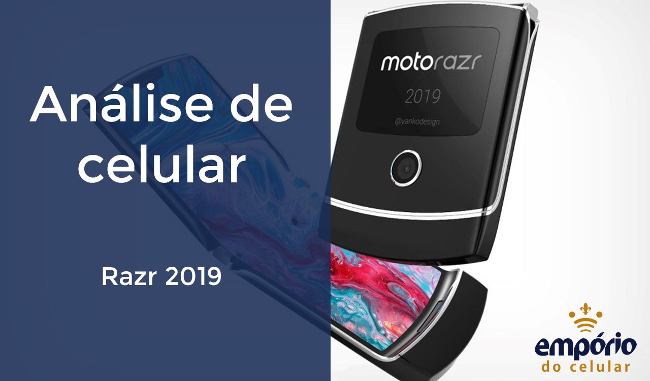 RAZR - Novo V3: Motorola lança aparelho com flip e tela dobrável