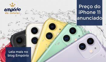 iphone 11 preço fb 350x205 - Apple BR divulga preço do iPhone 11