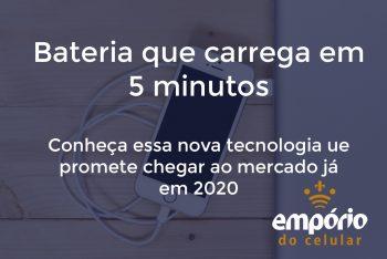 bat 5m 350x234 - Bateria que carrega em 5 minutos deve chegar ao mercado em 2020.