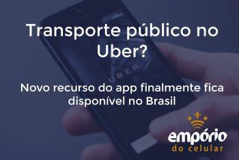 uber publico 350x234 - Uber disponibiliza função de transporte público no app