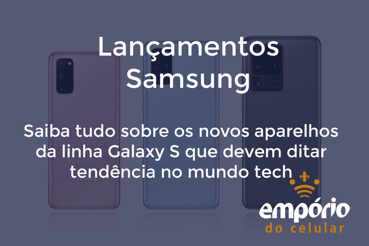 s20s - S20, S20 Plus e S20 Ultra são anunciados pela Samsung