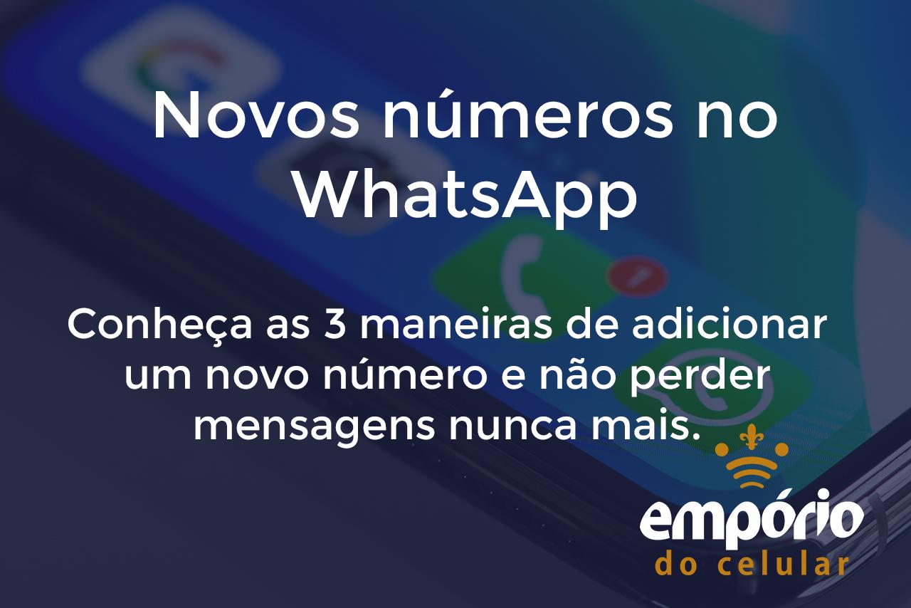 cotanto wpp - Como adicionar contatos no WhatsApp