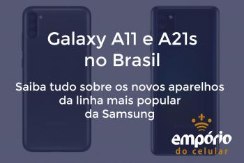 a21 a11 350x234 - Galaxy A11 e A21s chegam ao Brasil! Saiba tudo sobre eles