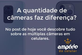 cameras mult 350x234 - Quantidade de câmeras no celular faz diferença?