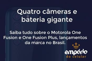 one fusion 350x234 - Motorola One Fusion e One Fusion Plus chegam ao Brasil