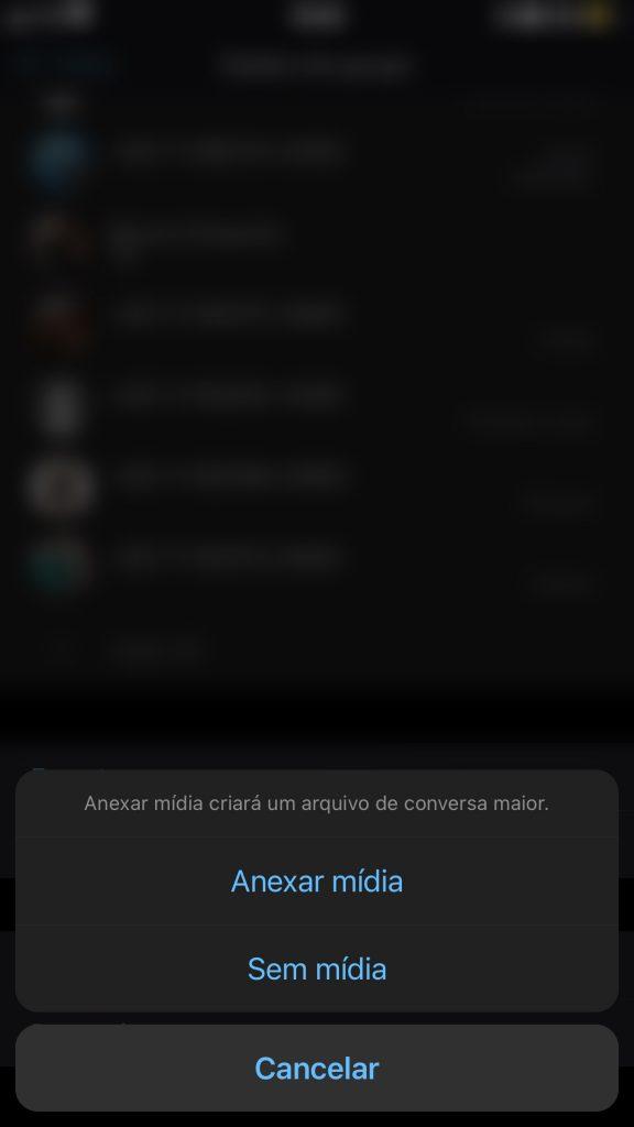 2EF2D3E3 EE91 48FE 8F77 315A37412D99 576x1024 - Como transferir as conversas do WhatsApp para o Telegram