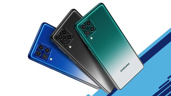 Galaxy F62 é lançado com bateria grande e processador potente