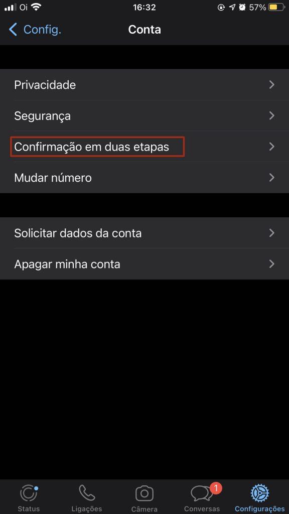 IMG 5139 576x1024 - Como ativar a verificação em duas etapas para o WhatsApp