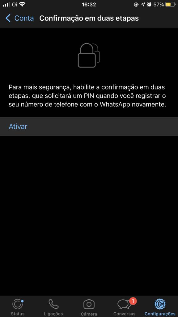IMG 5140 1 576x1024 - Como ativar a verificação em duas etapas para o WhatsApp
